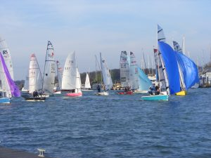 Dinghy Race Start